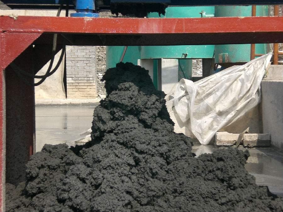 造纸厂污泥图
