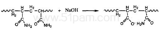 聚丙烯酰胺的水解反应