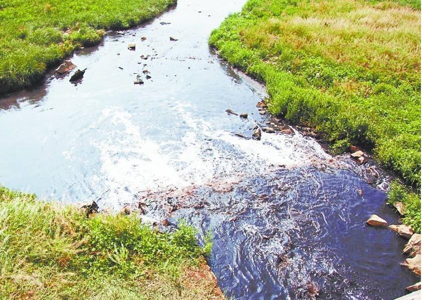 污水污染河流