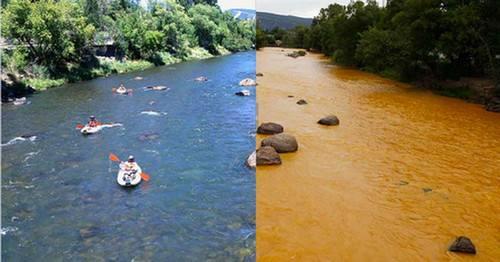 江河水被污染