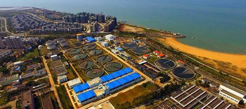 海口白沙门污水处理厂