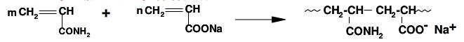 丙烯酰胺和现类酸钠共聚