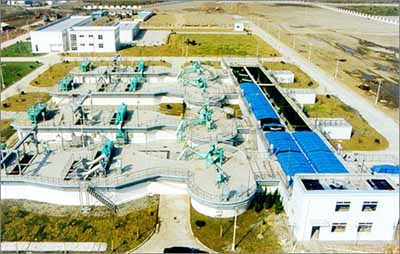 中国白龙港污水处理厂