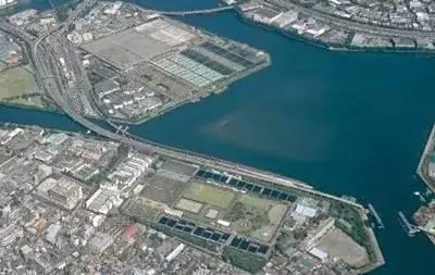 日本森崎污水处理厂