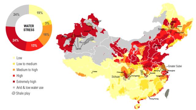 中国页岩气储量全球第一