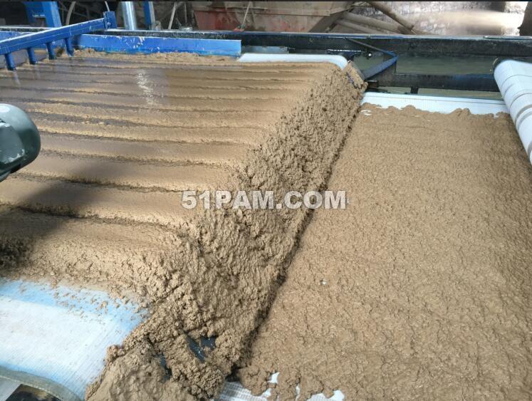 洗砂厂专用聚丙烯酰胺絮凝压泥