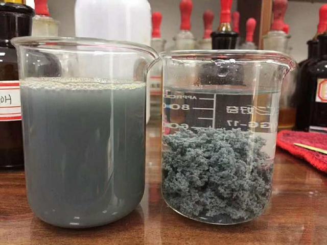 聚丙烯酰胺絮凝剂效果